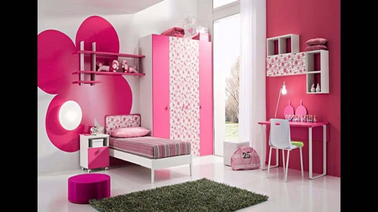 Simple teenage girl bedroom ideas - YouTube