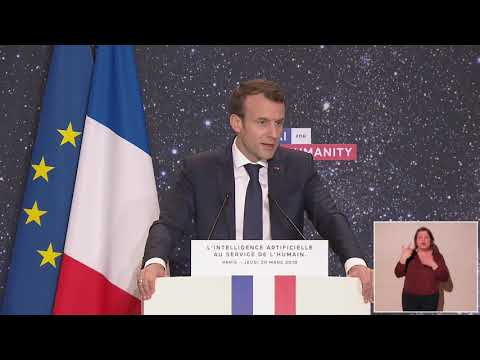 Speech by Emmanuel Macron, President of the Republic