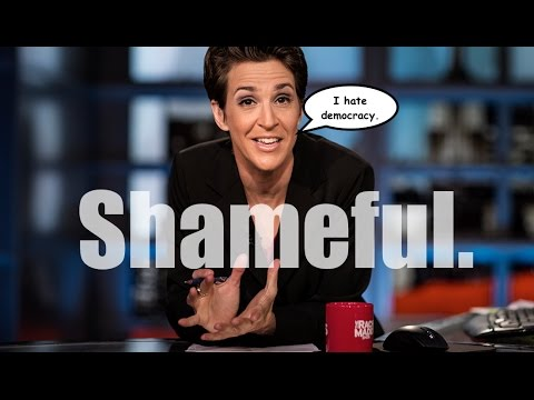 Rachel Maddow Blames Third-Party Voters For Trump Victory