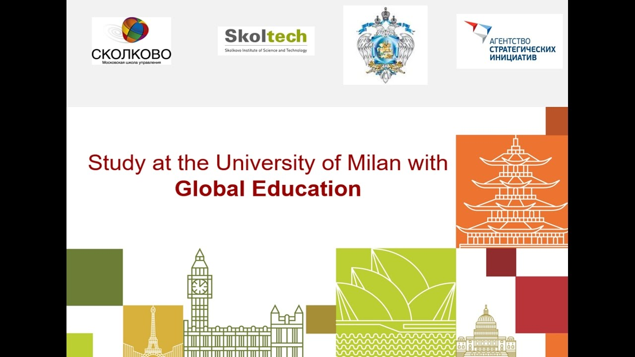 Study at the University of Milan with Global Education.