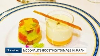 McDonald's to Go Upscale for 1 Night in Japan