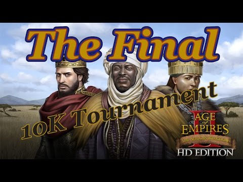 10K Age of Empires 2 HD Tournament: Final - Melvalan V GrumpyPirate