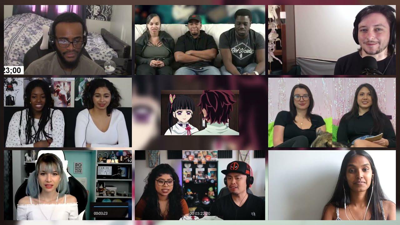 Download Demon Slayer Episode 25 Reaction Mashup   1080p