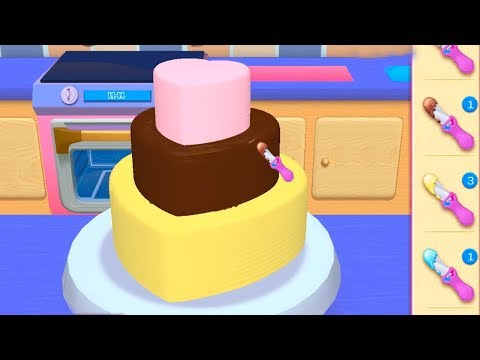 Kids Learn Cooking With My Bakery Empire - Learn Colours Play Bake, Decorate & Serve Cakes For Kids