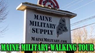 Maine Military Supply Walking Tour