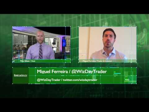 LIVETRADES.TV Interview with Miguel Ferreira, @WizDayTrader