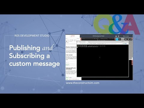 [ROS Q&A] 055 - Publishing and Subscribing a custom message