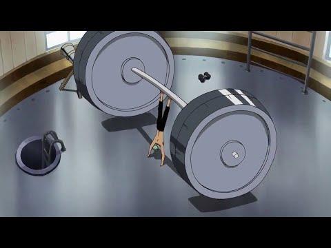 Zoro training hard to become stronger