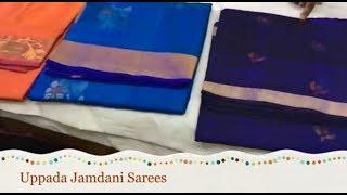 Uppada Jamdani Sarees