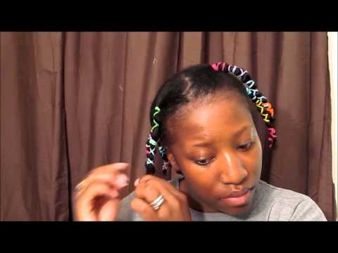 08: Banding: one way to stretch natural hair
