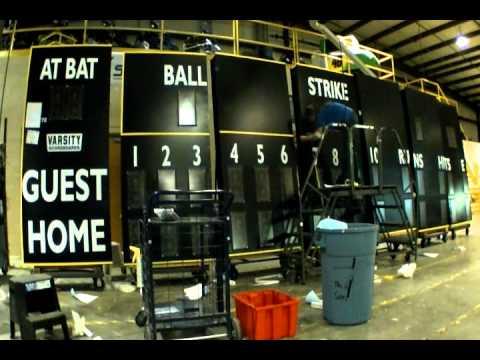 Union High School Baseball Field Scoreboardv325