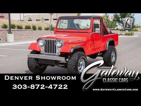 1985 Jeep Scrambler CJ8 - Denver Showroom #621 Gateway Classic Cars