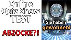 Online Quizshow seriös? Abzocke? Auszahlung + Erfahrungen  1 von 5 Sterne - Testpiloten.net