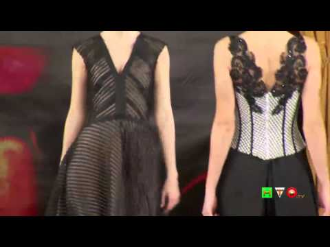 World of Fashion - Sfilata della collezione della stilista Lisbeth Camargo - www.HTO.tv