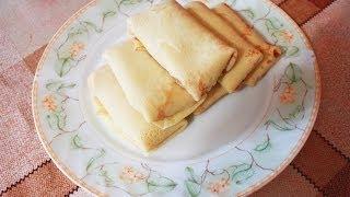Блинчики с мясом рецепт блинчиков с курицей Блины рецепты блинов блинчики с начинкой вкусные блины