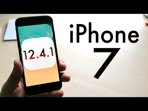 iOS 12.4.1 OFFICIAL On iPhone 7 Review