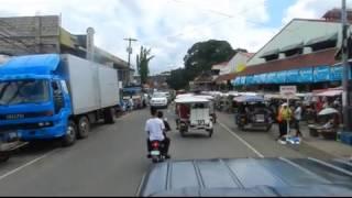 Riding through Tanjay Philippines
