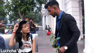 How To Propose Girls Prank In India | Luchcha Veer |