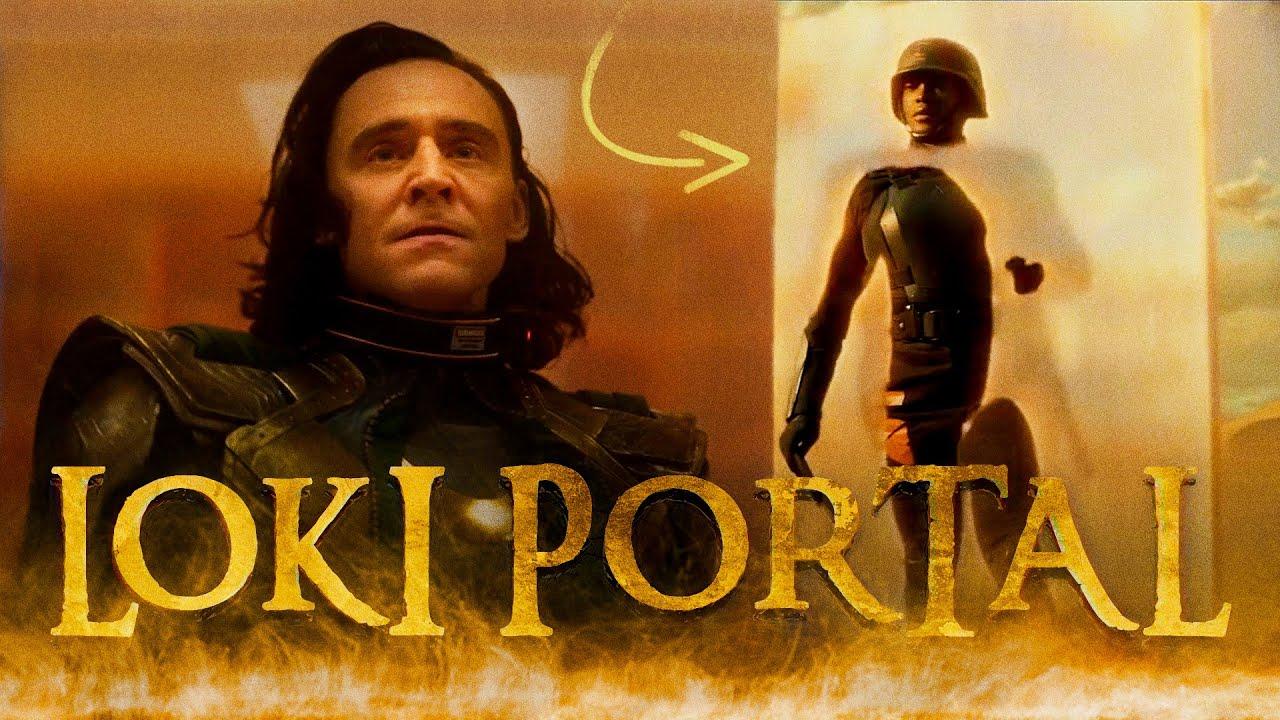 Loki Portal Effect | Walking Through Portal