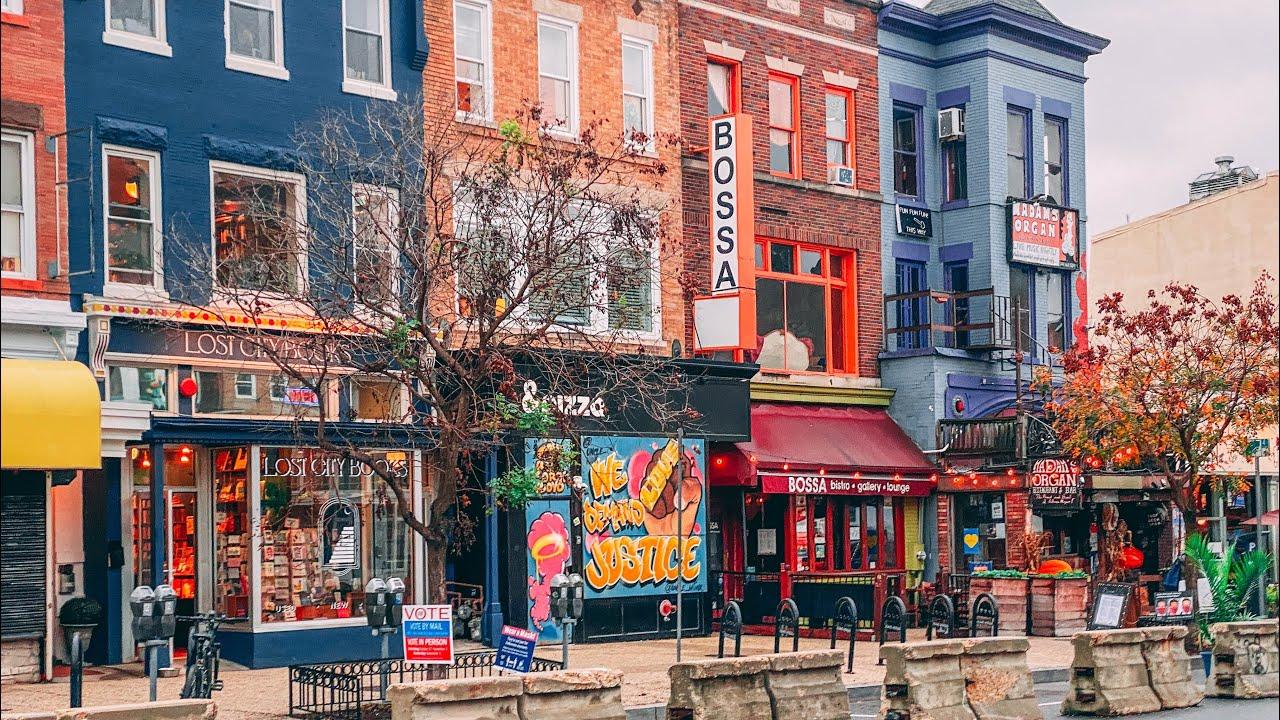 WASHINGTON DC WALK: DuPont Circle + Adams-Morgan