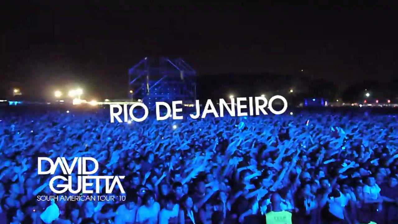 David Guetta - South American Tour '10