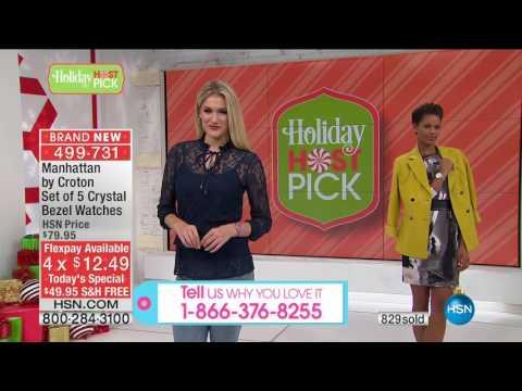 HSN | Adam Freeman's Holiday Host Picks 10.14.2016 - 12 AM