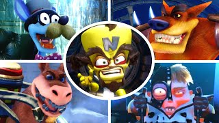 Crash Bandicoot - Cortex vs All Bosses (N. Sane Trilogy)