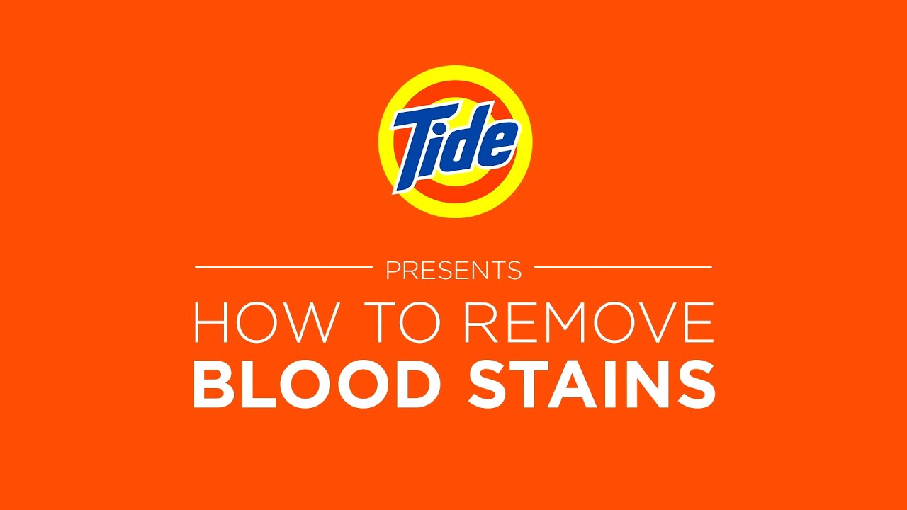 How To Remove Blood Stains From Linen Sofa Single Futon Bed Cheap Tide Laundry Tips With