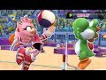 Mario & Sonic At The London 2012 Olympic Games Beach Volleyball #47 With Team Amy, Blaze