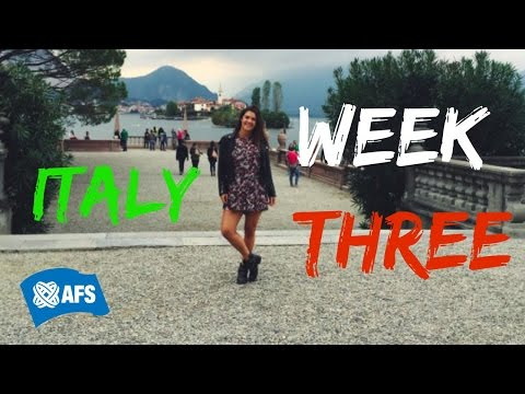 ITALIA WEEK THREE : This is Real!