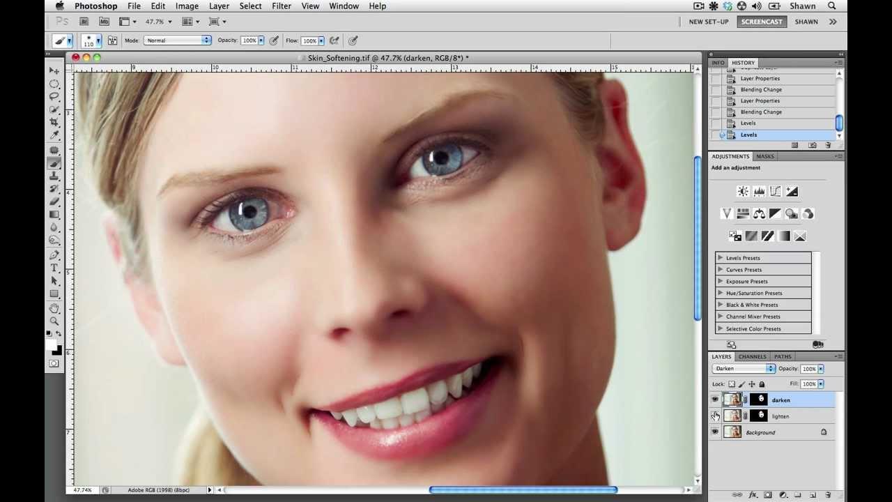 How To Soften Skin in Adobe Photoshop]
