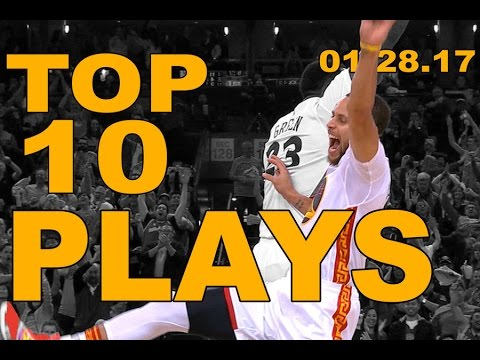 Top 10 NBA Plays of the Night: 01.28.17