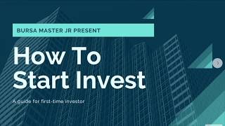 [SAHAM] How To Invest