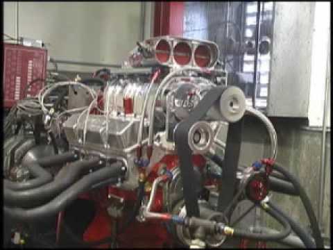 SuperCharged Fuel Injected 383 Small Block Dyno