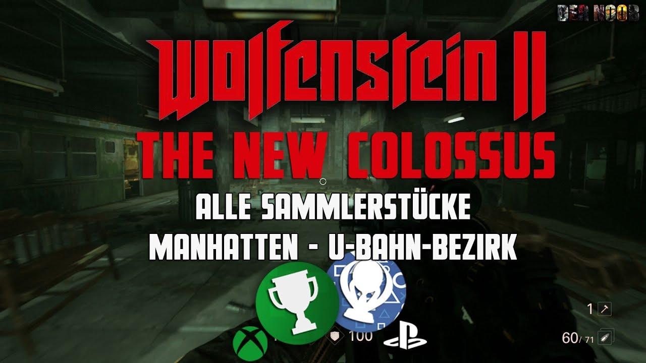 Wolfenstein 2 The New Colossus - Manhatten U-Bahn-Bezirk - Alle ...