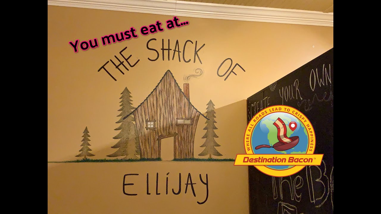 You will love The Shack of Ellijay!