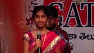 Kirti Chamakura Tollywood medley - GATS Sankranthi Sambaralu at St Mary