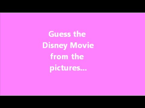Disney picture quiz 1