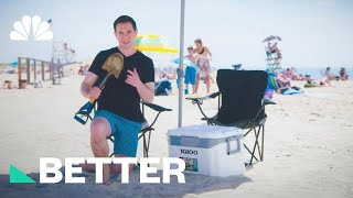 3 Ways To Keep Your Food Cool At The Beach | Better | NBC News