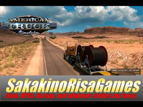 American Truck Simulator Arizona DLC 1080 Career Gameplay: Episode 28 (Vegas to Page)