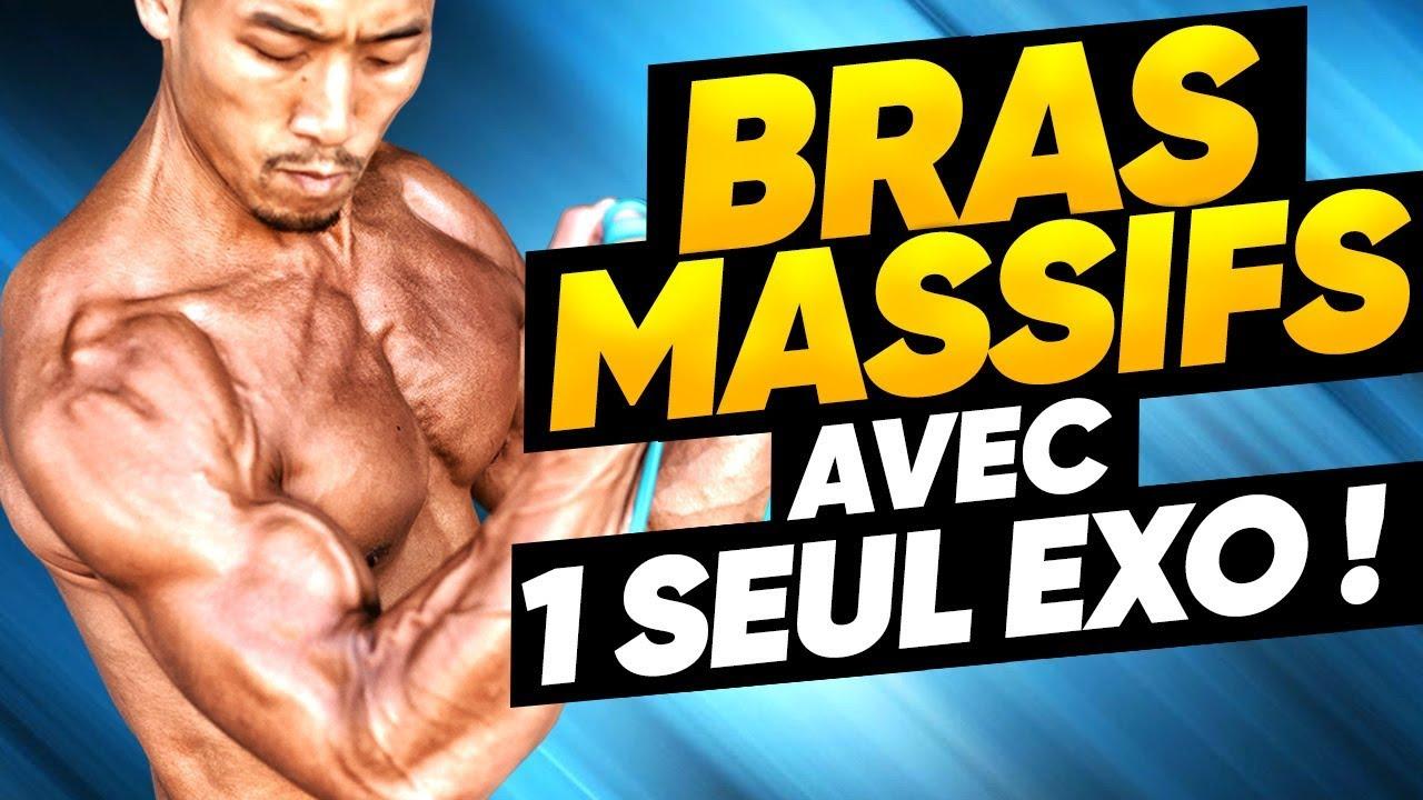 COMMENT AVOIR DE GROS BRAS 💪 avec 1 SEUL EXERCICE - YouTube db602840238
