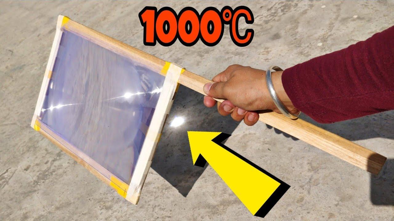 सूरज की ताकत कितनी ख़तरनाक हो सकती है,1000℃ से आप कुछ भी जला सकते है ओर POPCORN भी बना सकते है | 4K