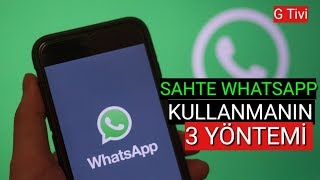 SAHTE WHATSAPP NUMARASI ALMANIN 3 YOLU! Sanal Numarayla Whatsapp