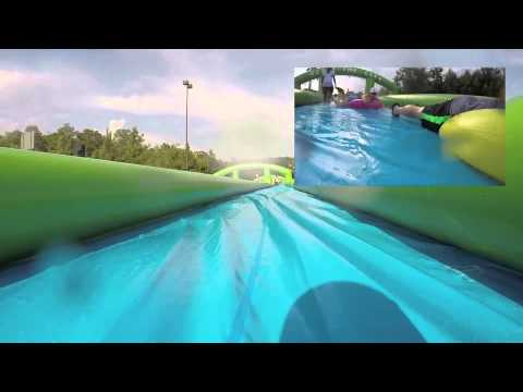 Slide the City in Mobile, Alabama on June 26, 2015