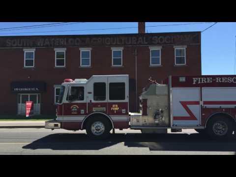 [HD] North Dumfries Fire Department Pump 1 Driving By (JUN 03 2017)