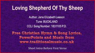 Download lagu Loving Shepherd Of Thy Sheep Hymn LyricsMusic MP3