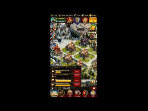 Vikings: War of Clans HUGE DEFENSE! (How to progress FAST)