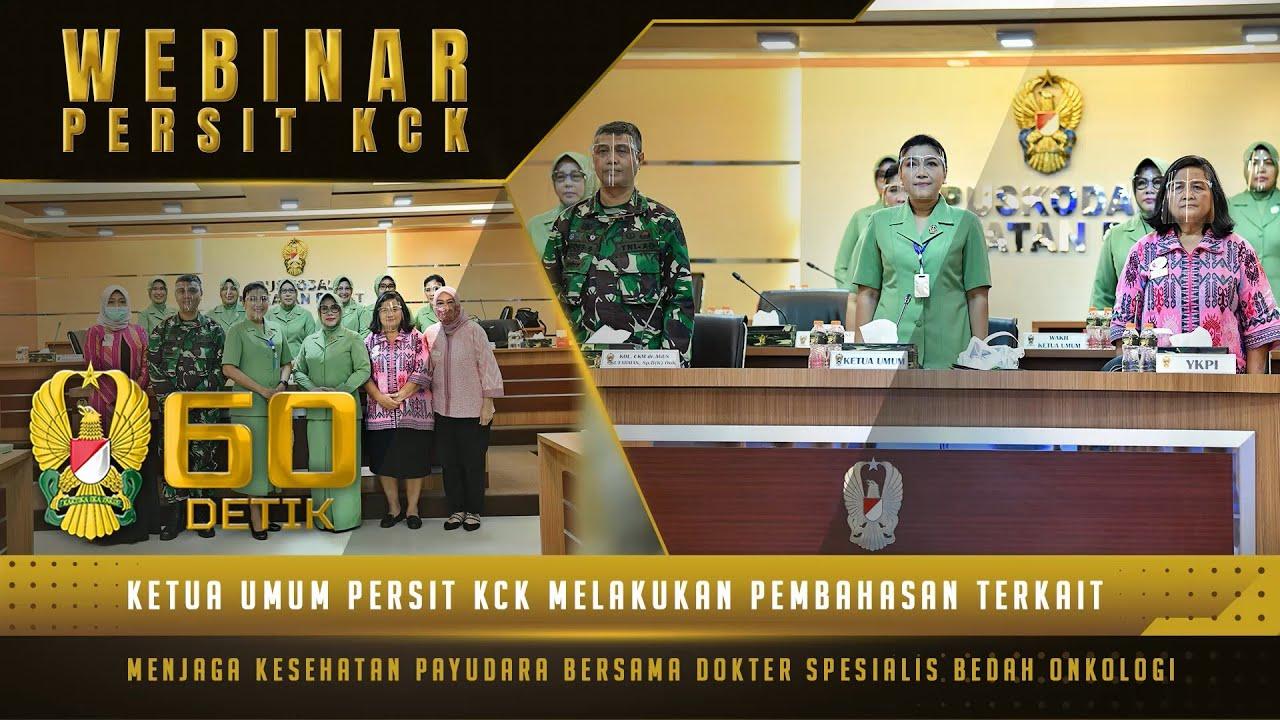 "Persit KCK Mengadakan Seminar Menjaga Kesehatan Payudara | 60"" TNI AD"