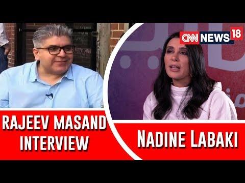 Rajeev Masand Interview With Cannes Jury Prize Winner Lebanese Filmmaker Nadine Labaki