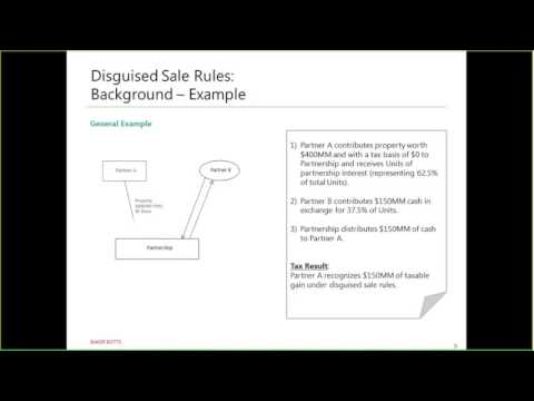 Corporate Series: The New Partnership Disguised Sale and Liability Allocation Rules